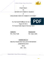 OVERVIEW OF CURRENCY MARKET & STRATEGIES USING IN CURRENCY FUTURES