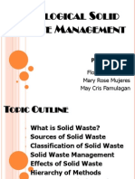 Ecological Solid Waste Management