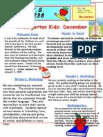 K Newsletter Dec 08