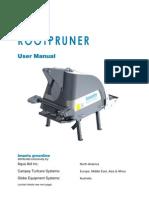Campey - Imants Root Pruner - Operators Manual