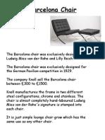 The Bareclona Chair