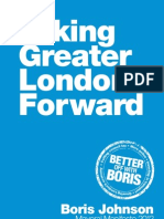 Taking Greater London Forward