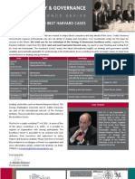 Strategy & Governance - Excellence Series - Brochure
