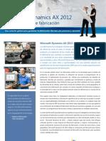 Manufacturing Ax 2012