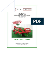Campey - TIP - Greens Spiker Seeder - 3 Point Mounted - Operators Manual_2010