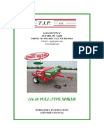 Campey - TIP - Greens Spiker Seeder - Pull Behind - Opertors Manual_2010