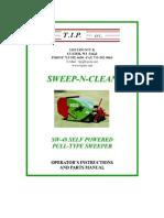 Campey -TIP - Sweep N Clean SW48 - Operators Manual_2010