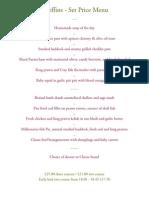 Cheffins Set Price-May 2012