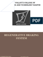 Regenerative Braking Ppt Final