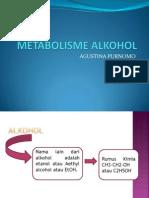 metabolisme alkohol