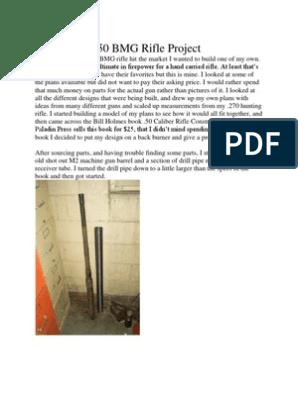 50 cal plans   Screw   Drilling