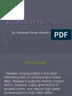 Equalization Technique