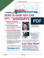 Free American News Magazine April-2008