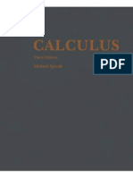 Michael Spivak Calculus (1994) 3rd Edition