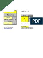 Dosificacion Concreto Cualquier Resistencia-Volumen!!!