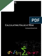 Calculating Value at Risk (VaR) TOC