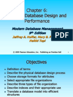 Chp 6 Physical Database Design and Performance