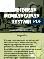 Pendidikan Pembangunan Lestari