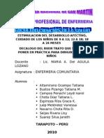 DESARROLLO AFECTIVO Y CUIDADOS DEL NIÑO DE 9 A 12 MESES