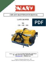 Campey - Omarv TE 120-140-160 - Operators & Parts Manual