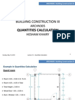 Building Quantity