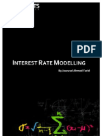 Interest Rate Modelling TOC