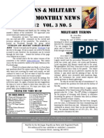 Veterans & Military Families Monthly News-May 2012