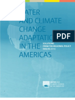 Water and Climate Change in The Americas