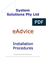 eAdvice Installation Instructions