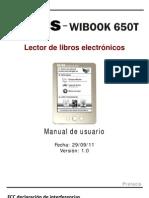 Manual Wibook-650T ES