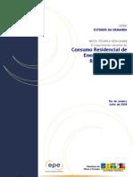 Pesquisa de Consumo de Energia Nordeste