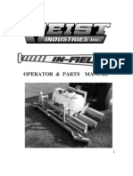 Campey - Raycam Infield - Operators & Parts Manual