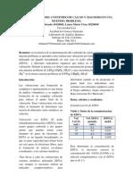 DETERMINACIÓN DEL CONTENIDO DE CALCIO Y MAGNESIO EN UNA MUESTRA PROBLEMA