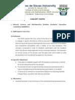NSM Sports Fest Concept Paper