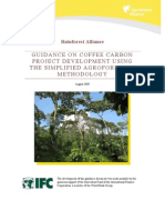 Rain Forest Alliance Coffee Carbon Guidance_v2 August 09