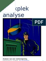 Werkplek Analyse (W89)