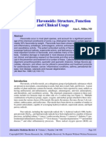 Antioxidant Flavonoids Structure Function and Clinical Usage