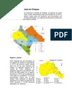Regiones Del Estado de Chiapas