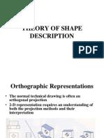 Theory of Shape Description[1]
