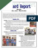 Newsletter Dec. 2011 - March 2012