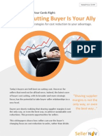 How To Make The Cost-Cutting Buyer Your Ally?