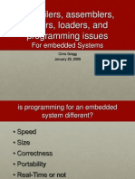 Compilers Programming Embedded