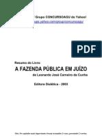 Resumo Do Livro a Fazenda Publica Em Juizo