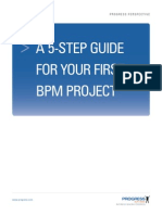 5-Step Guide to 1st BPM Project
