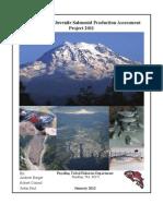 Puyallup River Juvenile Salmonid Report 2011