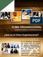 climaorganizacionalexposubir-090404174917-phpapp01