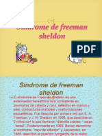 Síndrome de freeman sheldon claudia vanessa avilez