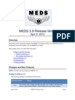 MEDS 3.9 Release Notes
