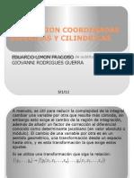 Conversion Coordenadas Esfericas y Cilindricas