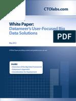 Datameers User Focused Big Data Solutions